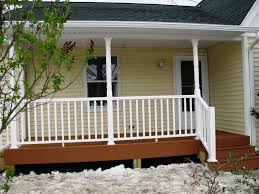 image of porch railing ideas diy