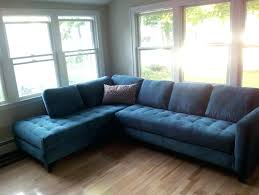 awesome sofas center royal blue velvet sectional sofa indigo denim inside denim sectional sofa for motivate