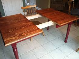 knotty pine farm dining table legs and table slides complete dining table project