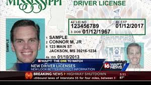 New Mississippi License Gets Youtube - Driver's