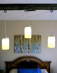 home design shabby chic wall sconce light distressed board pendant mason jar lamp three rustic string