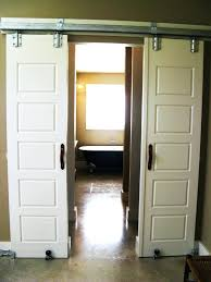 bathroom sliding barn door for hardware o doors design slider archer on a  mirror within dimensions