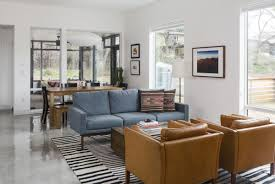Living Room Furniture Austin In Central Austin A Modern Home Merges Brains And Beauty Curbed