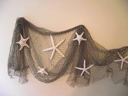 Decorative Fish Netting Fish Net Decor Etsy