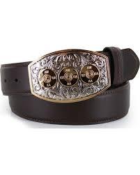 zoomed image cody james bullet leather belt brown hi res
