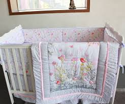 Giol Me Num Birds flowers cartoon Crib Baby Bedding Set 100%Cotton ... & Giol Me Num Birds flowers cartoon Crib Baby Bedding Set 100%Cotton Print 4  Items Cot Quilt/Bed Around/Bed Skirt/Mattress Cover-in Bedding Sets from  Mother ... Adamdwight.com
