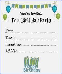 printable kid birthday cards boy birthday party invitations free printable printable boy birthday