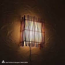 asian lighting. bamboo and cotton wall hanging japanese asian lamps postage 600 yen 8000 or lighting d