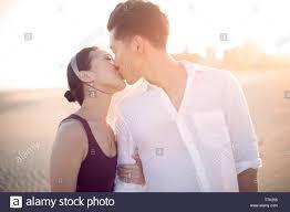 Korean Couple Kissing High Resolution ...