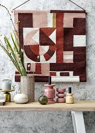 hanging a rug multi rich colour cotton woven wall hanging rug hanging silk rugs on wall