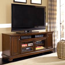 Large Screen Tv Stands Millennium Porter Transitional Cherry 72 Extra Large Tv Stand