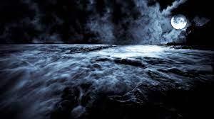 Blue Moon Hd Desktop Wallpaper - Dark ...