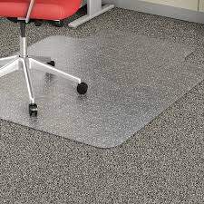 chair mat with lip. Lorell Economy Weight Chair Mat LLR02156 With Lip