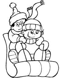 Small Picture Girl Sledding Coloring Pages Coloring Pages