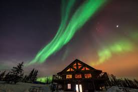 Forecast Northern Lights Alaska Aurora Borealis Forecast Aurora Borealis Alaska By Man