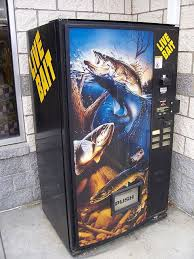 Used Live Bait Vending Machine For Sale Cool Live Bait Vending Machine Vending Machine And Bait