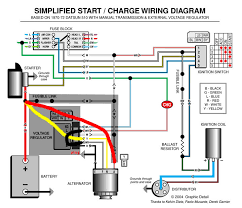 internally regulated alternator wiring diagram internally charging sys issues electrical ratsun forums on internally regulated alternator wiring diagram