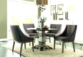 Dining Room Table Sets Leather Chairs Collection New Decorating Design