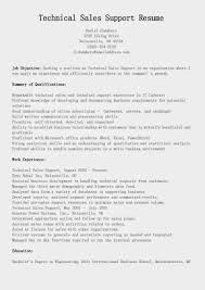 Technical Sales Resume Examples Great Sample Resume