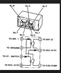 prelude pump in gl1200 steve saunders goldwing forums i stand corrected about the terminals here is the wiring diagram for a prelude fuel pump relay