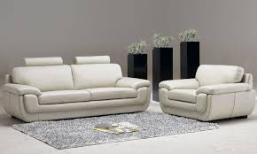 Living Room Furniture Sofas Leather Living Room Furniture With Three Decorative Plants House