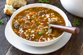 beef barley soup the cozy a