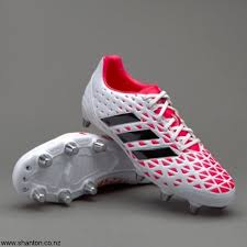 adidas kakari elite sg white core rugby boots black shock exclusive red mqrsuvz578