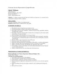Resume Objective Customer Service Customer Service Resume Objective Original Technical Support 19