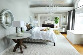 vancouver round rug with area rugs bedroom beach style and sheep tree branch chandelier