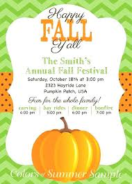 Fall Party Invitations Orgullolgbt