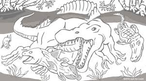 Small Picture Prehistoric Animal Coloring Pages Jack the Lizard Wonder World
