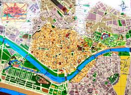 map of seville spain  imsa kolese
