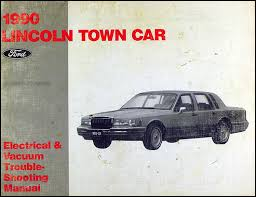 1990 lincoln town car electrical and vacuum troubleshooting manual