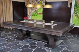 Pool table dining top Insert Pool Tables Robertson Billiards Dining Conversion Tables Robertson Billiards