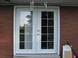 Home Design  Exterior Single French Doors Outdoor Lighting - Exterior closet