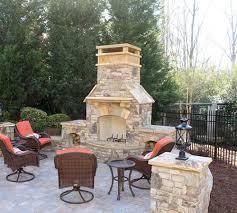 stone chimney topper on outdoor chimney