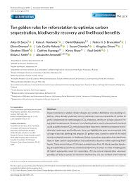 Address, phone number, chatham's godfrey windmill reviews: Pdf Ten Golden Rules For Reforestation To Optimize Carbon Sequestration Biodiversity Recovery And Livelihood Benefits