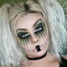 jessblends frankenstein baby doll makeup costume