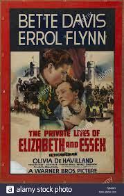 Private Lives of Elizabeth and Essex, The - Movie Poster Stock Photo - Alamy