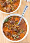 algerian lamb and lentil soup