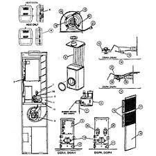 coleman furnace parts model dgaa070bdta sears partsdirect cabinet parts