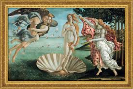 sandro botticelli painting the birth of venus 1484 86 framed