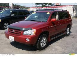 Toyota Highlander red gallery. MoiBibiki #3