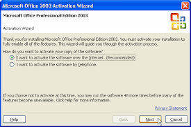 Office 2003 How Microsoft Office Activation Works