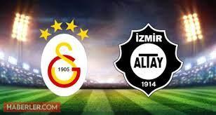 Galatasaray Altay maçı saat kaçta? Galatasaray Altay maçı ne zaman?  Galatasaray Altay maç hangi kanalda? - Dailymotion Video