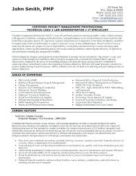 pmp certified resume sample project management resume format resume format  and resume maker pmp certified resume