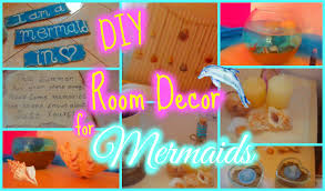 Little Mermaid Bedroom Decor Make Your Room Like A Mermaids Diy Room Decor Youtube