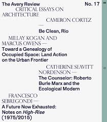 a future now exhausted essay the avery review issue 17 sep 2016 ""