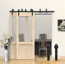 image is loading 4ft 16ft wood sliding barn door hardware kit