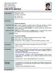 New Resume Formats Resume Job